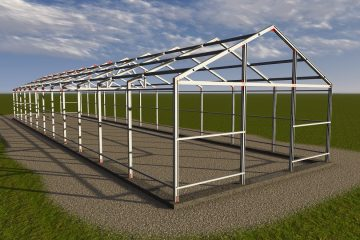 Greenhouse Steel Construction